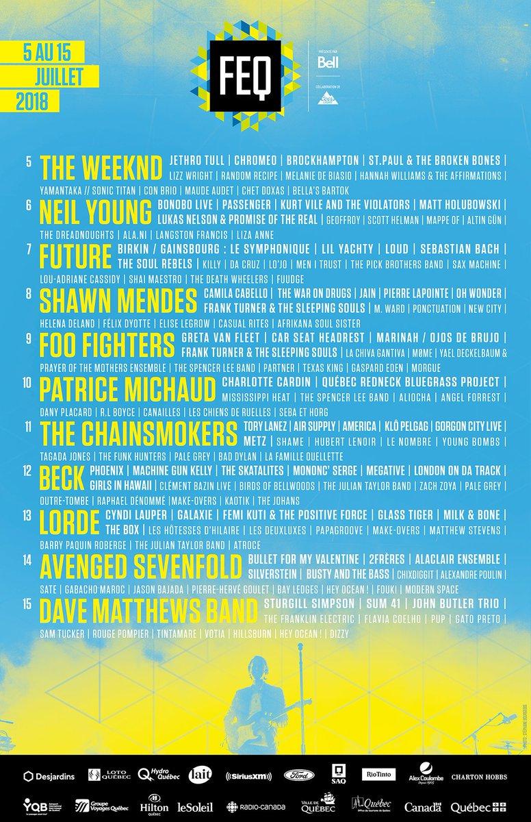 festival quebec juillet 2018