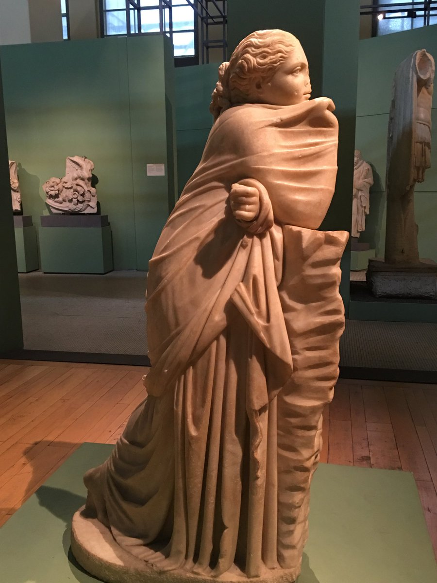 Sono innamorato ... Statua di una Musa Centrale Montemartini, #Roma #RomeisUs