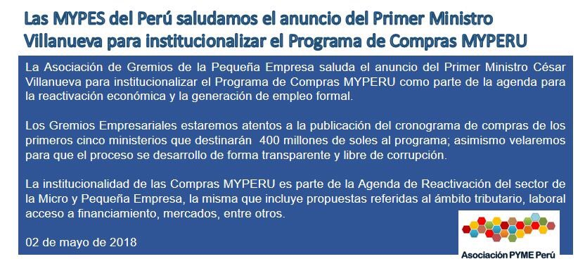 Asociacion PYME PERU on Twitter: \