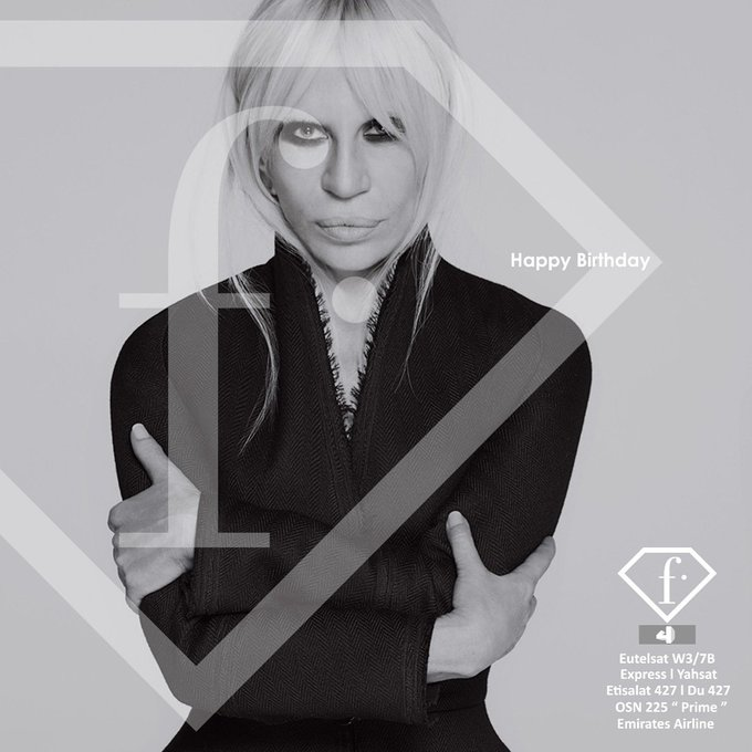 HAPPY BIRTHDAY Donatella Versace   this amazing lady never fails to impress and we her !