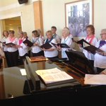 A visit from the Ladner glee club today. #forbetterretirementliving