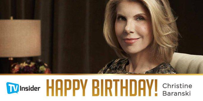 Keep fighting Christine Baranski. Happy birthday! Visit:
