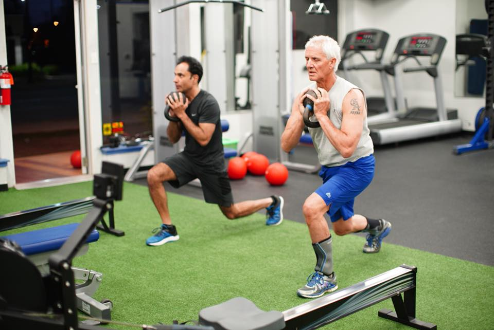 U M Rogel Cancer Center On Twitter Talk About Going The Extra Mile Gpalapa2 Hits The Gym For An Early Morning Workout With A Patient Standuptocancer Takeoncancer Https T Co 1ivric6k6l