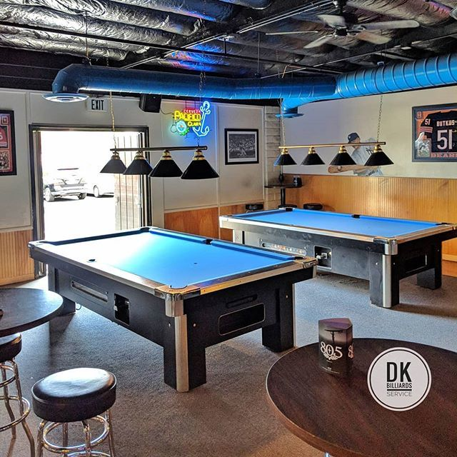 DK Billiards On Twitter Finished Refelting The Foot Global - Electric blue pool table