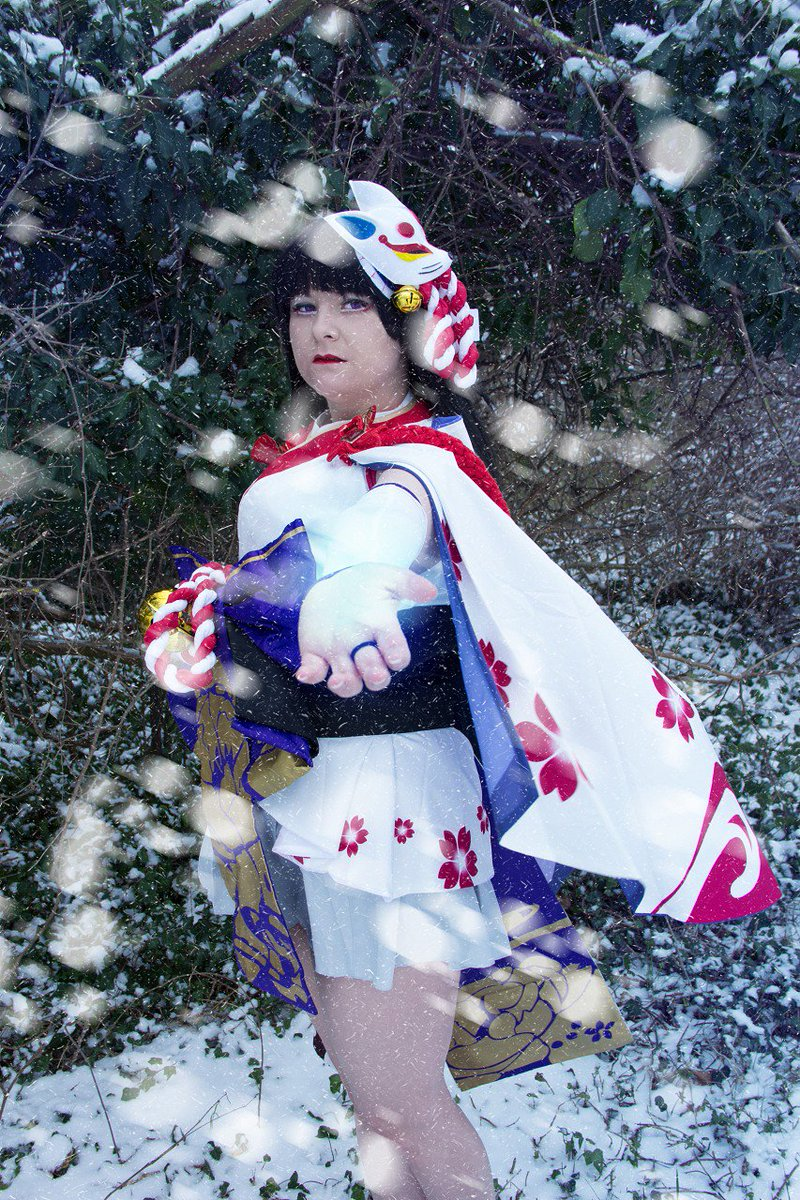 Nicii On Twitter More Yuki Onna Photos Series Onmyouji