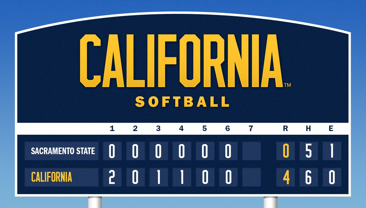 Cal Softball on Twitter: \