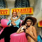Image for the Tweet beginning: Salvador Dali et Amanda Lear,
