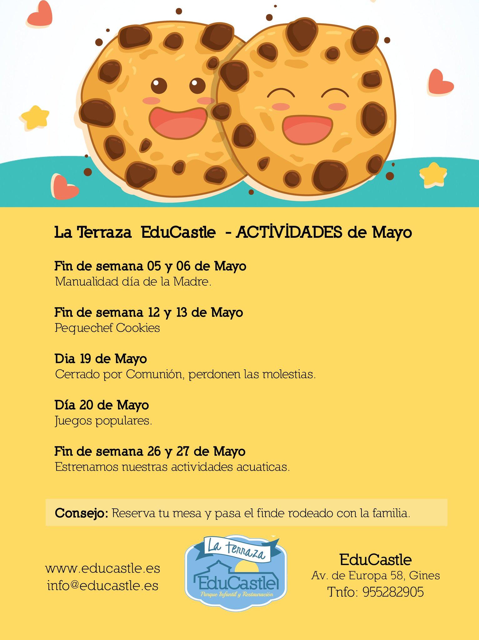 La Terraza De Educastle On Twitter Comienza El Mes De Mayo