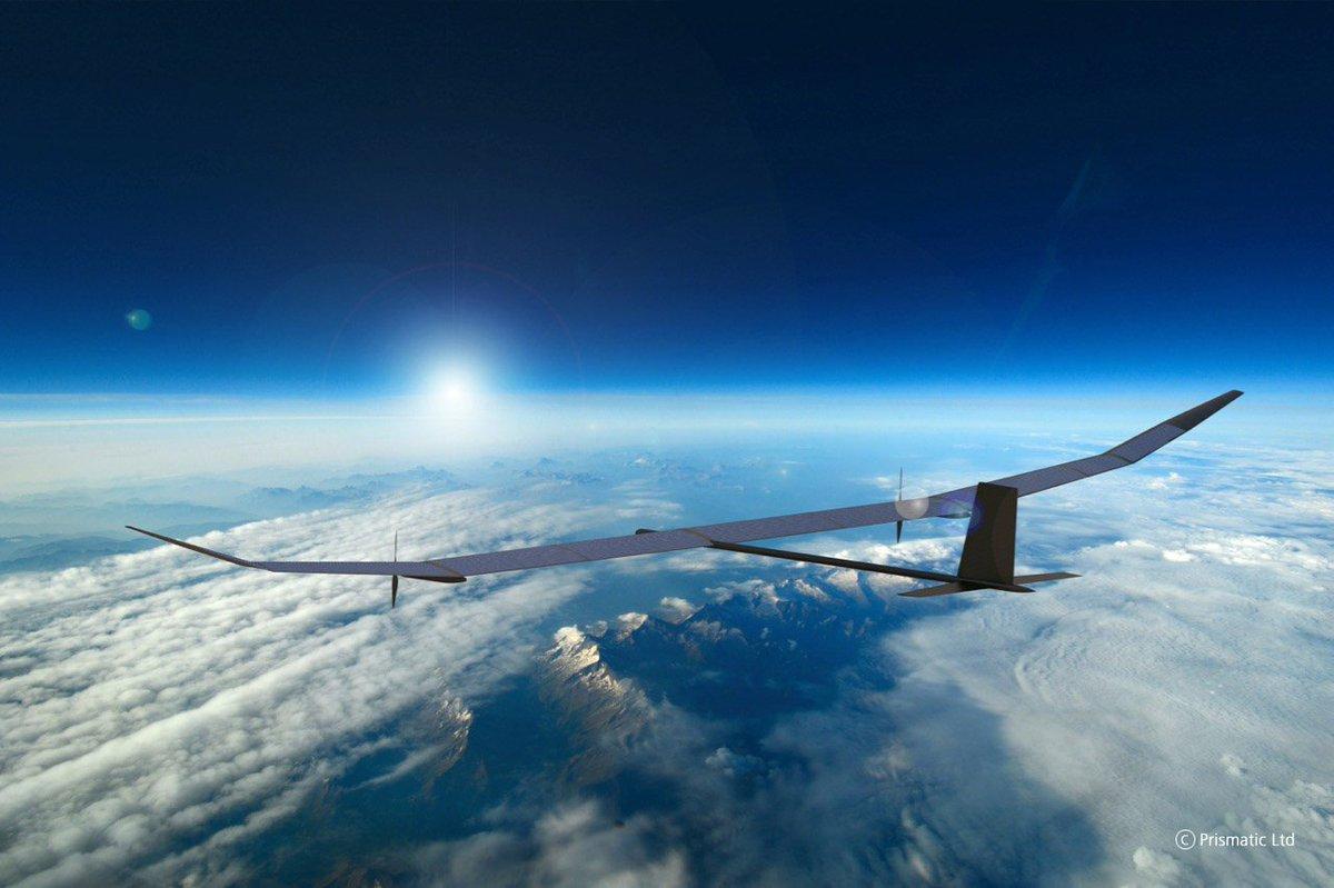 شركات بريطانية تكشف عن طائرة  PHASA-35 UAV المسيره DcQ3VV4W4AAxwV4