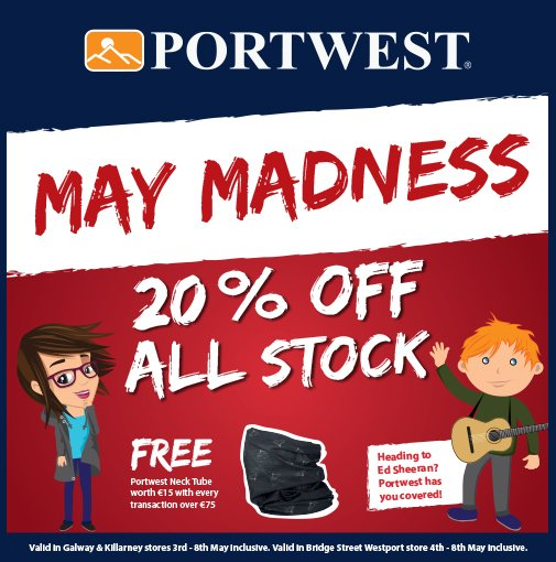 Bridge Street Stores >> Portwest Ireland On Twitter Check Out Our May Madness