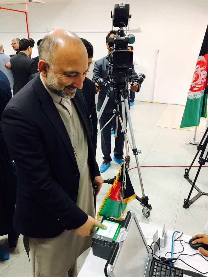 I am so pleased to get my National E-Tazkeera today.  E-Tazkeera is an important and crucial step towards the Security, Prosperity, Economic Development, Social Justice, and Tranparency in Afghanistan.