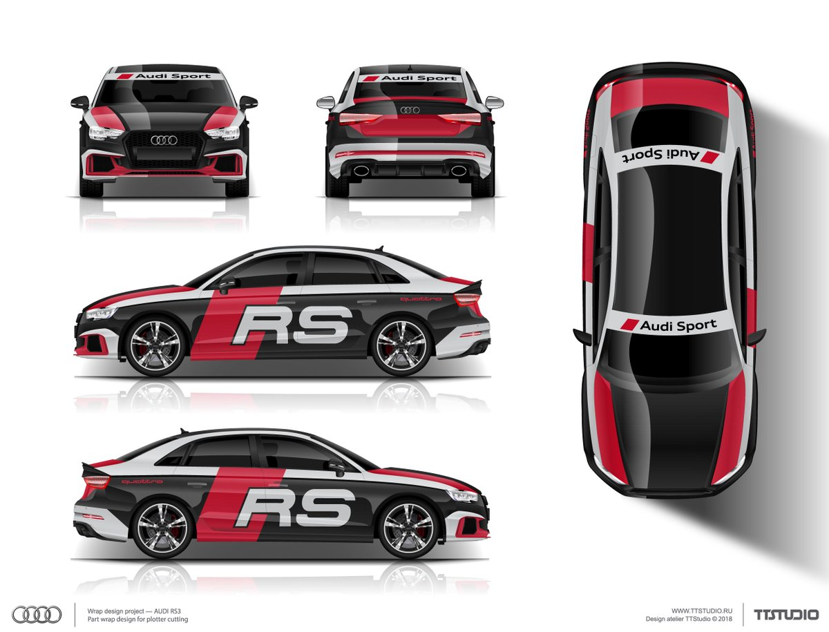 Alexander On Twitter The Approved Livery Wrap Design For Audi