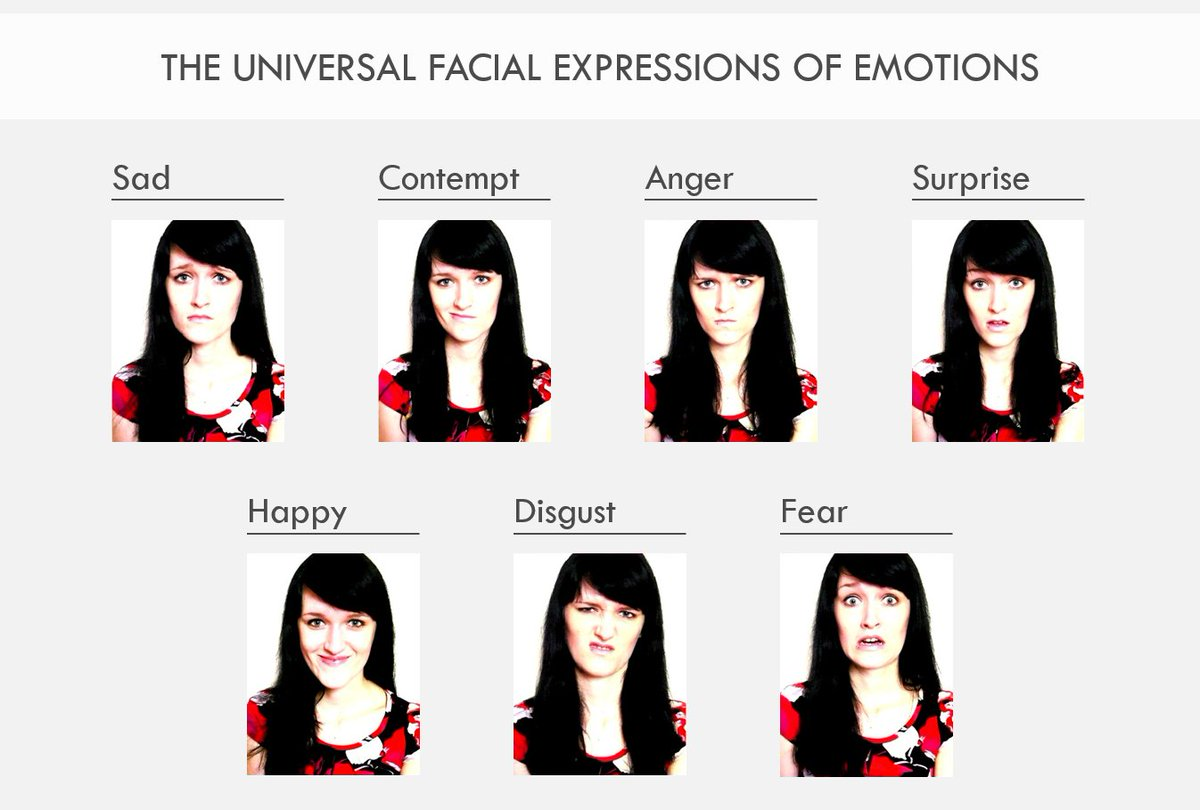 Recognizing emotional states holds enormous potential and with facial  recognition software becoming more skilled in reading Ekman's universal  facial ...