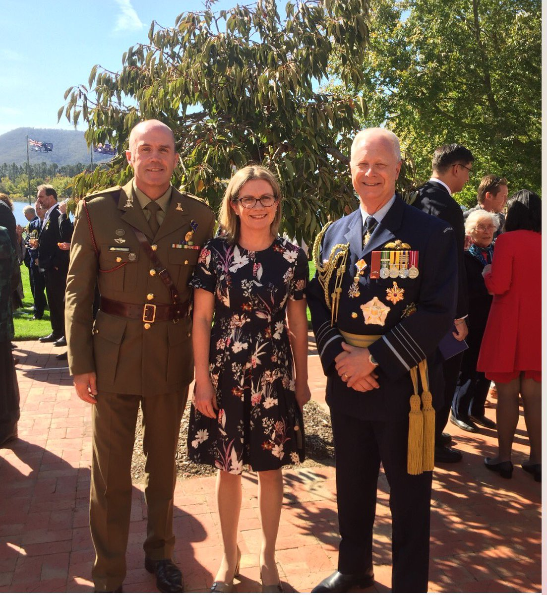 #YourADF is among 100+ Australians being recognised for their service to the country during investiture ceremonies at Government House this week