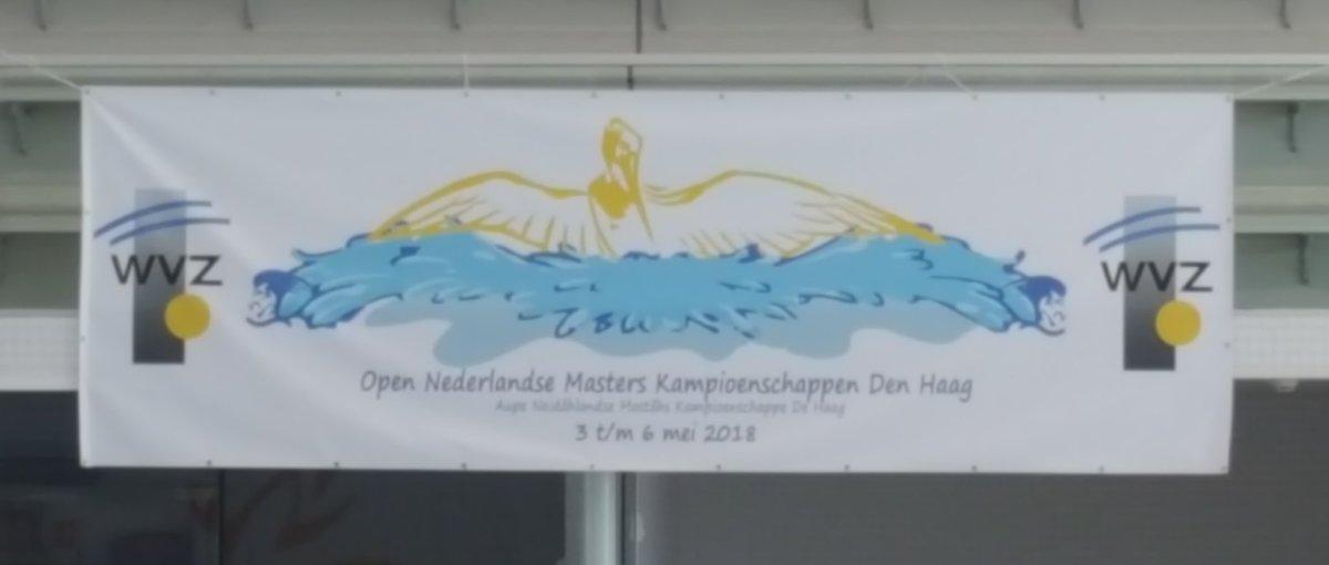 Nog heel even en dan is het zover: de Open Nederlandse Master Kampioenschappen 2018lb gaan van om 12.30 uur van start in het Hofbad. De organisatie ligt in handen van WVZ en @KNZBned. Succes organisatie en zwemmers!