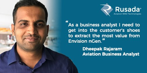 "Next up in our Rusada Q&A series, ""Behind the Logo"" is Business Analyst, Dheepak Rajaram. https://t.co/uBxf98elwv"