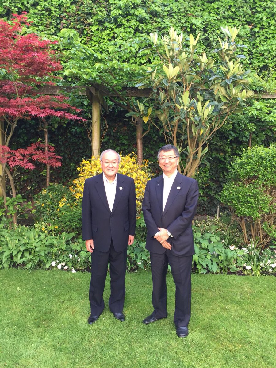 RT @AmbKoji: Great to meet with Olympic and Paralympic Minister Suzuki at my Residence. Japan has big shoes to follow London's 2012 Olympic…