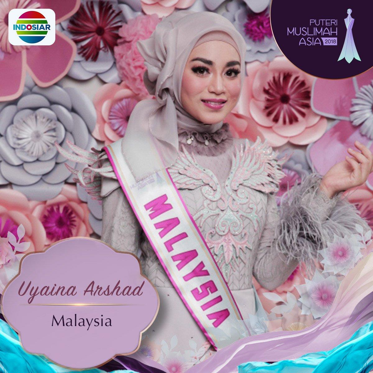 Image result for uyaina arshad menang puteri muslimah asia 2018