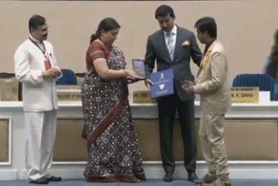 "#Ghazi director #SankalpReddy & producer PVP receiving National award for ""The Best Telugu Film"". @RanaDaggubati @PVPCinema #TheGhaziAttack"