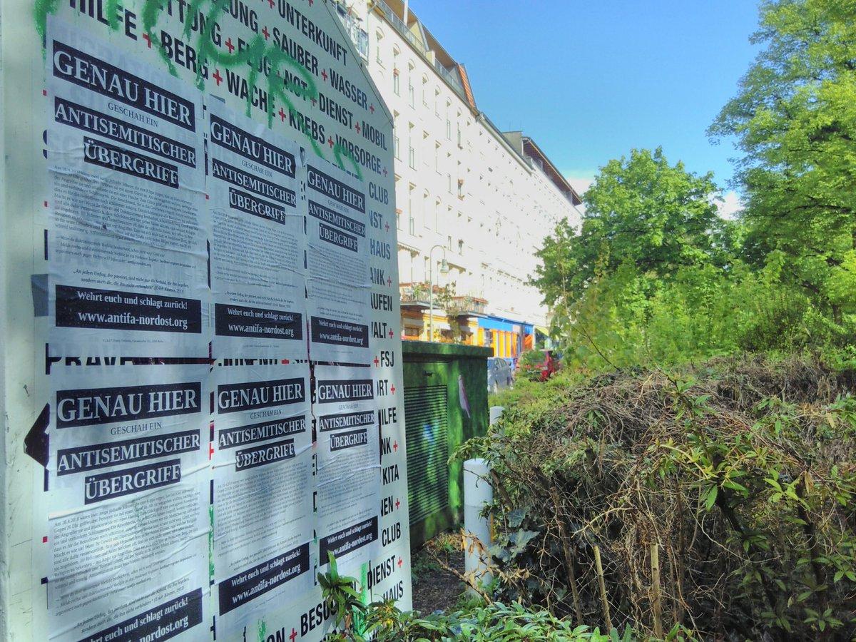 North East Antifa Berlin On Twitter Plakatieraktion Rund Um Den