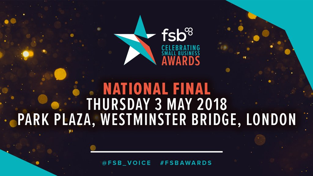 Tonight is the FSB Small Business Awards and we would like to wish all the finalists the very best of luck! @FSB_Voice #FSBAwards