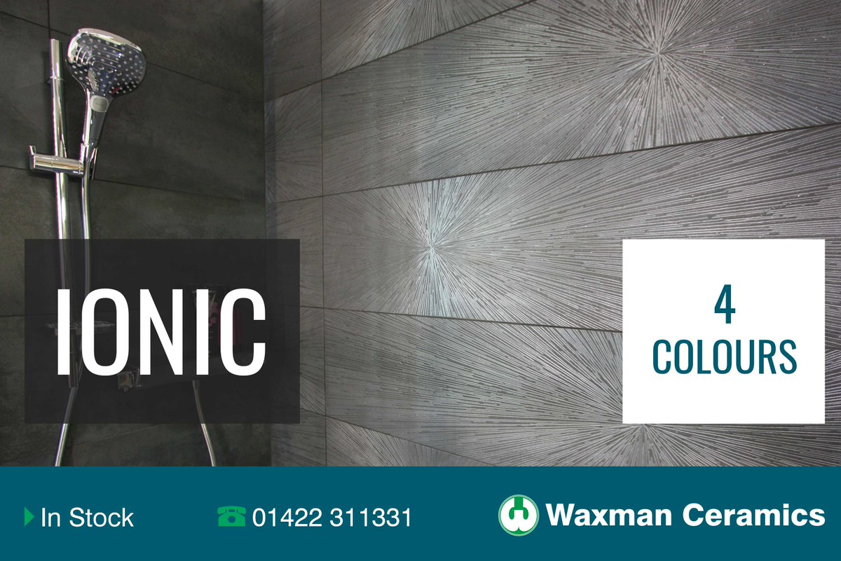 Waxman Ceramics Hq On Twitter Discover Our Ionic Range Available