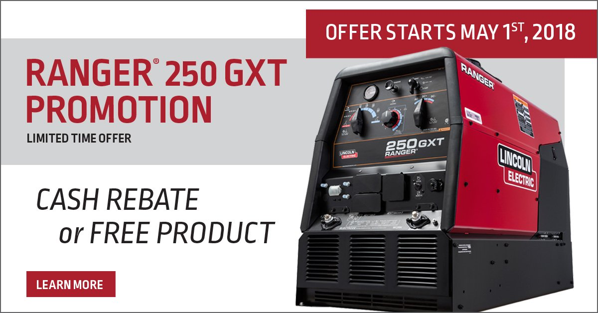 Info Http Promotions Lincolnelectric Ranger 250 Promo Utm Source Social Medium Twitter Campaign Rng Content Landing Page