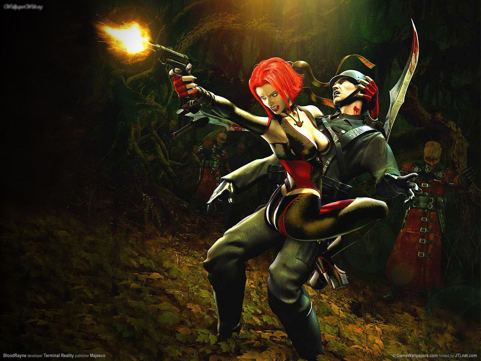 bloodrayne video game trailer
