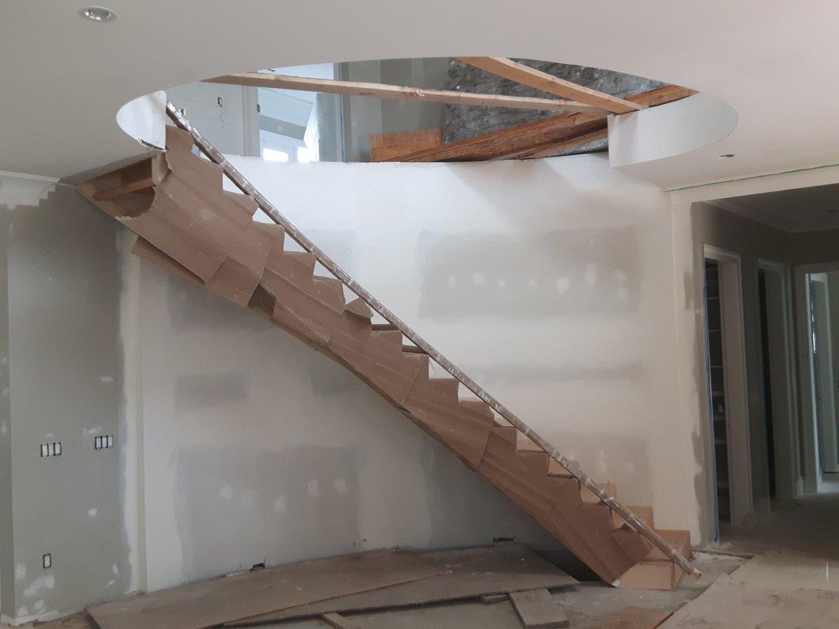 Bh Wood On Twitter Stair Day In Burnaby Maple Veneer