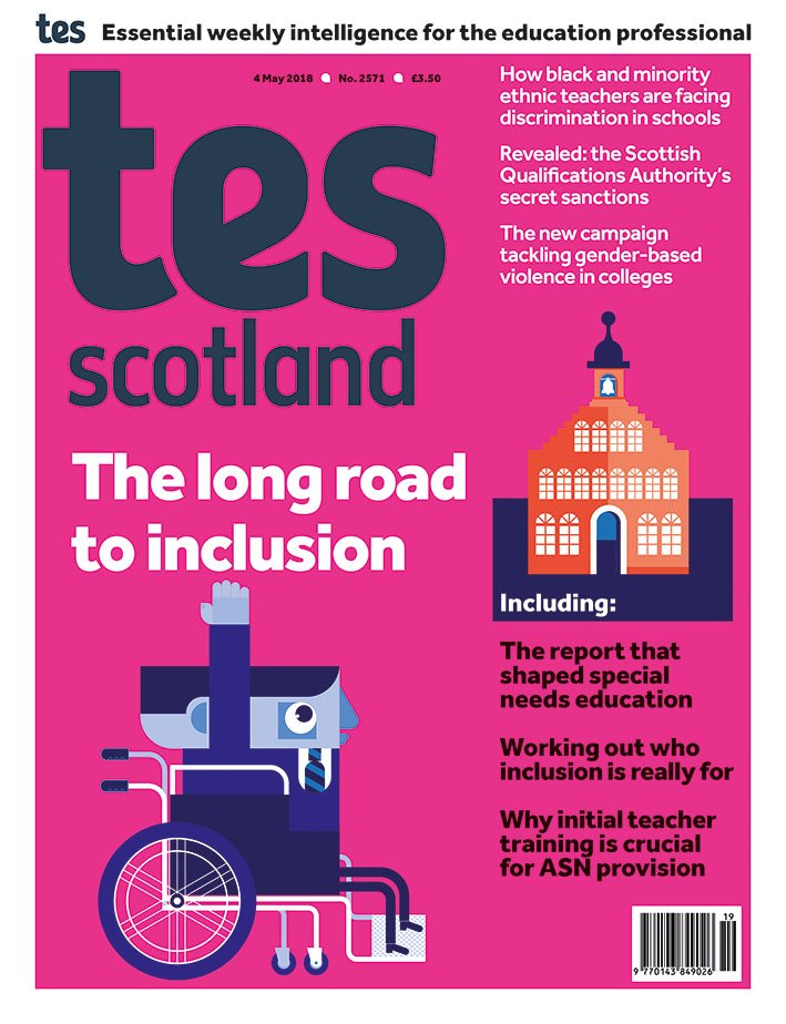 Secret Teacher I Am All For Inclusion >> Tes Scotland On Twitter First Look At The Front Cover Of