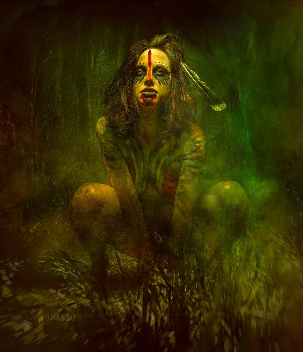 Nude witch art Nude Photos 1