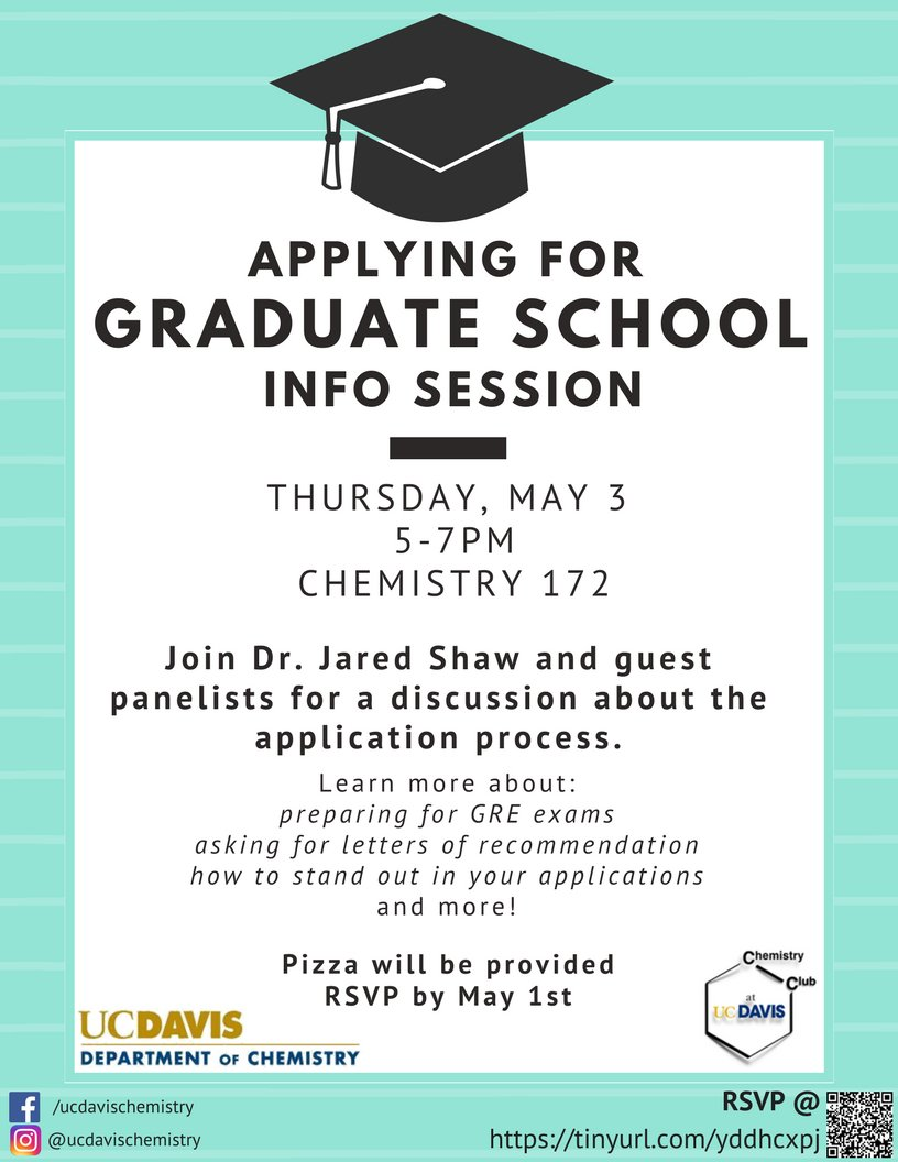 join us this afternoon 510 700 for a panel with prof jared shaw shawshankrxn grad program coordinator brad wolf grad admissions director brian