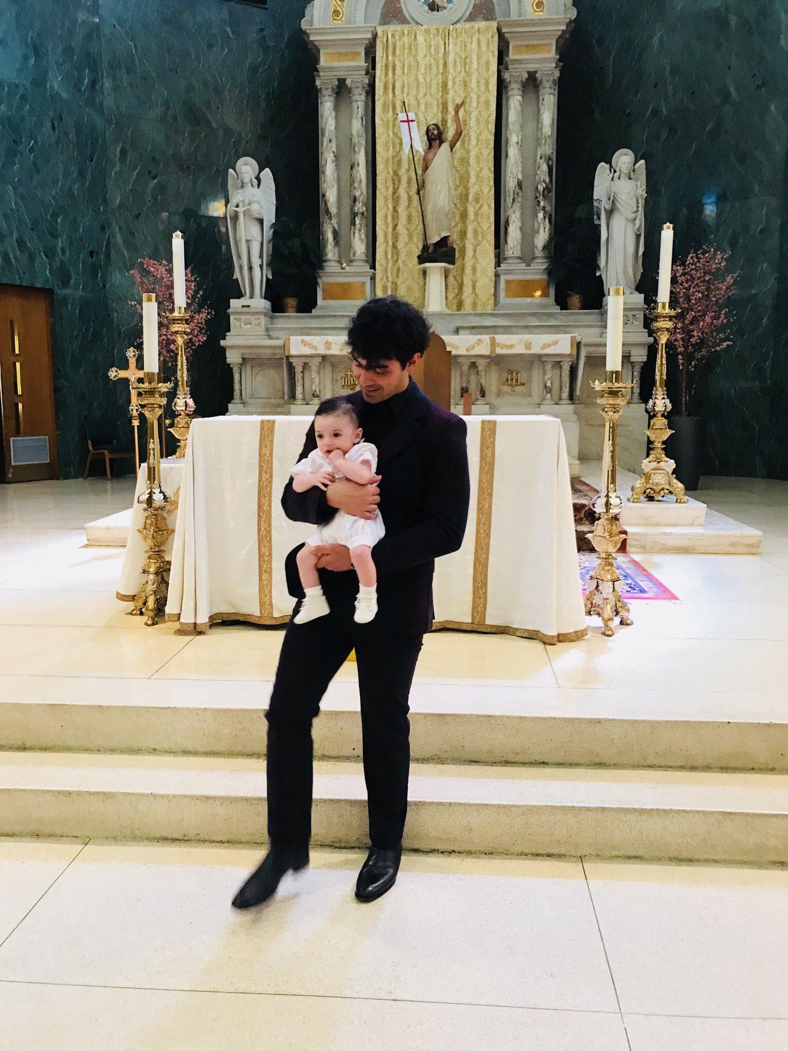 My beautiful Godson Alex's Baptism today �� https://t.co/kC0UoX7Eqs