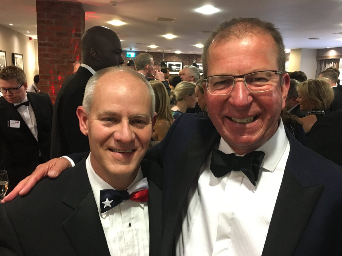 Founder &amp; CEO Steve Reynolds and Managing Director - Europe Peter Grover are sporting their black tie best at tonight's #ITMconference Gala Dinner - thanks to @ITMtweets for another successful event!<br>http://pic.twitter.com/MeihIG52Kp