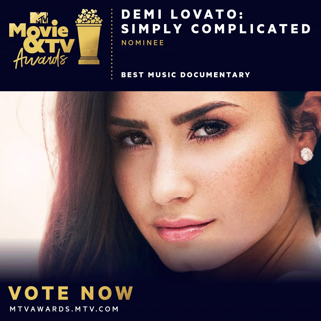 @ddlovato congrats on your #mtvawards nomination, bb! vote now at https://t.co/B6c16HKCG5 �� https://t.co/Zm3b520fU1