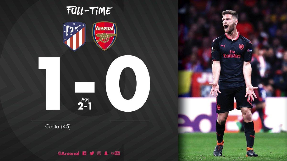 Chấm điểm kết quả Atletico Madrid 1-0 Arsenal