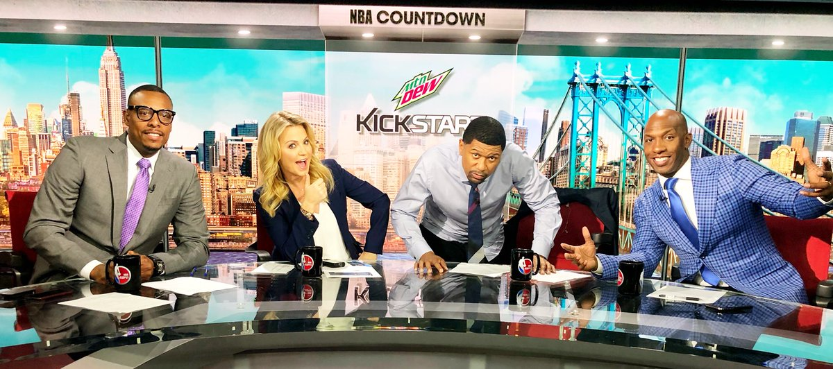 What the hell. Join us. In 5. ESPN.