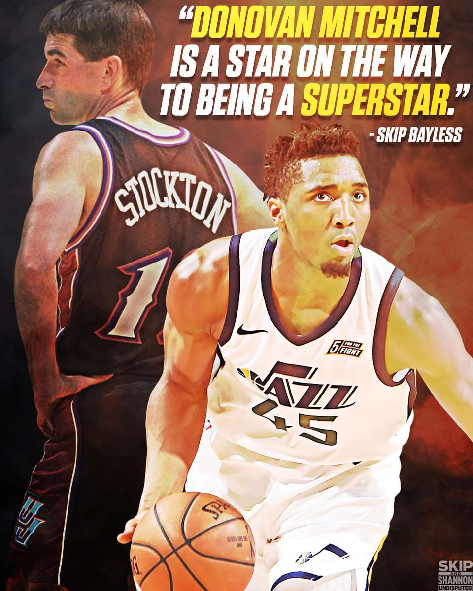 f326902d09 Donovan mitchell set the utah jazz franchise record for assists by a rookie  in a playoff game last night (11), beating out john stockton. and this is  only ...