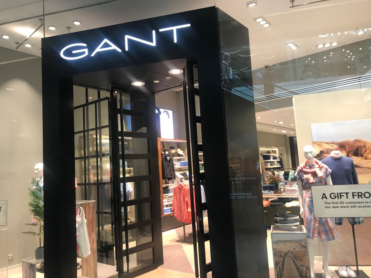 f2eee29773 Pleased to see American sportswear brand @GANT1949 reopen in Westfield  Stratford City today. The store looks great and is sure to be as popular as  ever with ...