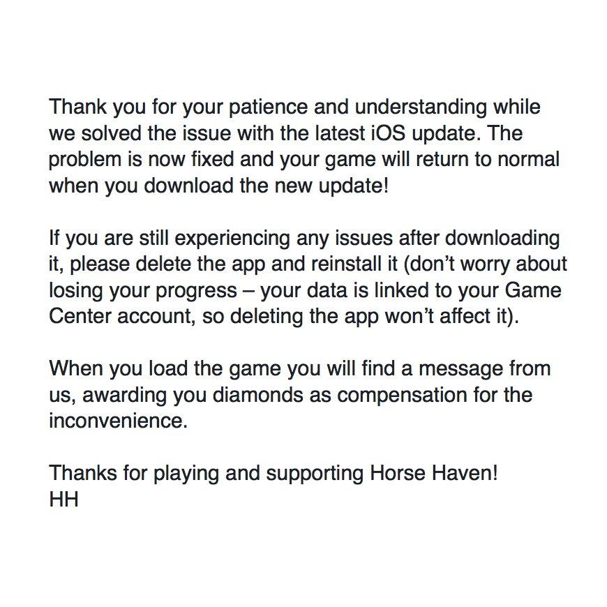 Horse Haven: WA on Twitter: