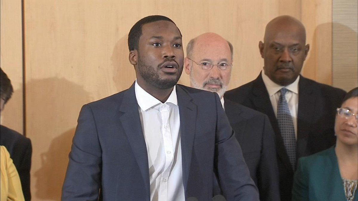 Image result for Meek Mill Links With Governor Of Pennsylvania To Demand Criminal Justice Reform