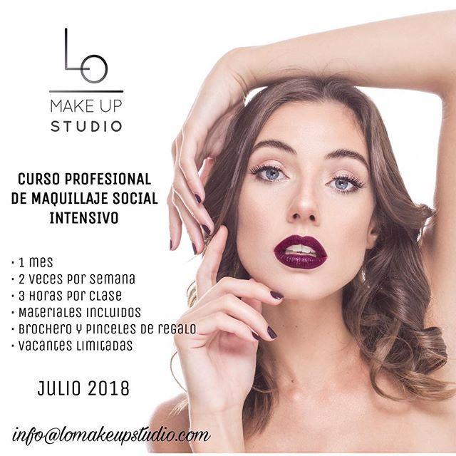 3fb6079c4 Abiertas las inscripciones para el Curso Profesional Intensivo de Maquillaje  Social en @lomakeupstudio Para recibir info por favor escribir a ...