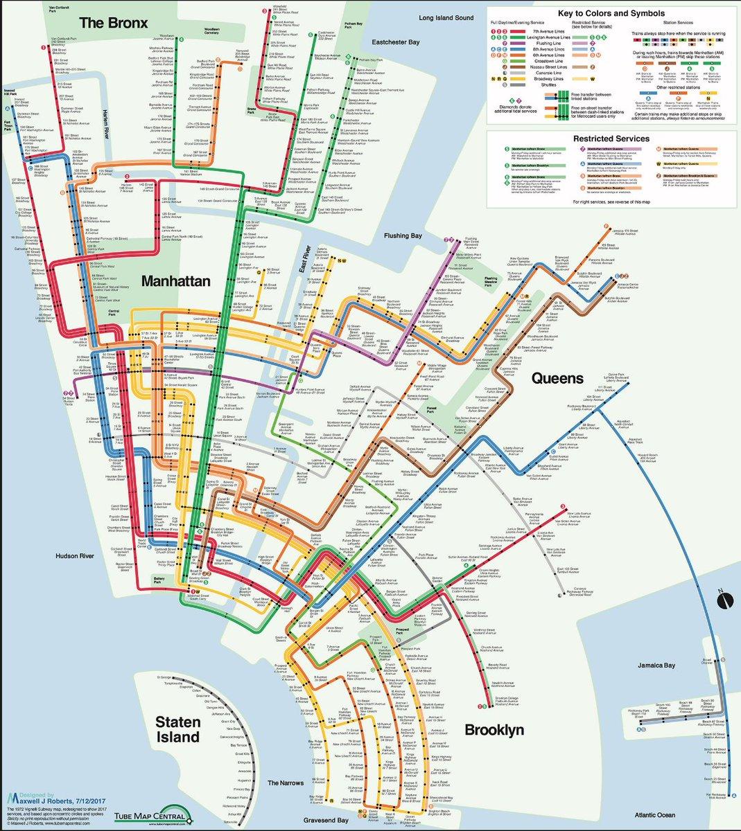 Subway Map May 2018.Laura Nahmias On Twitter A Concentric Circle Nyc Subway Map Using