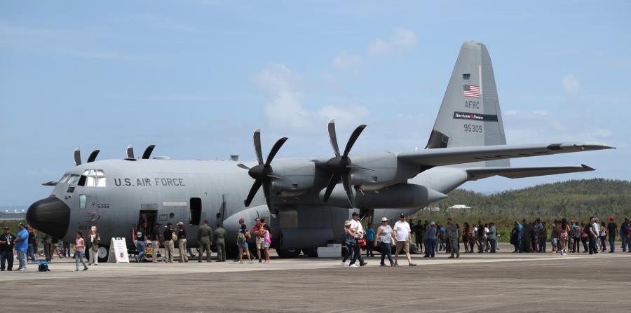 WC-130 que se estrelló fue un cazahuracanes hasta el 2004 https    f2533549016