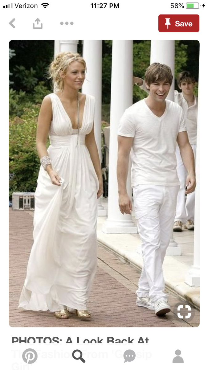 Gossip Girl Blair White Party Dress