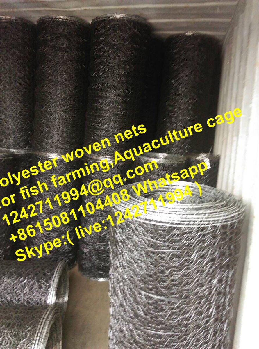Aquaculture Net/PET woven mesh for fish farming on Twitter: \