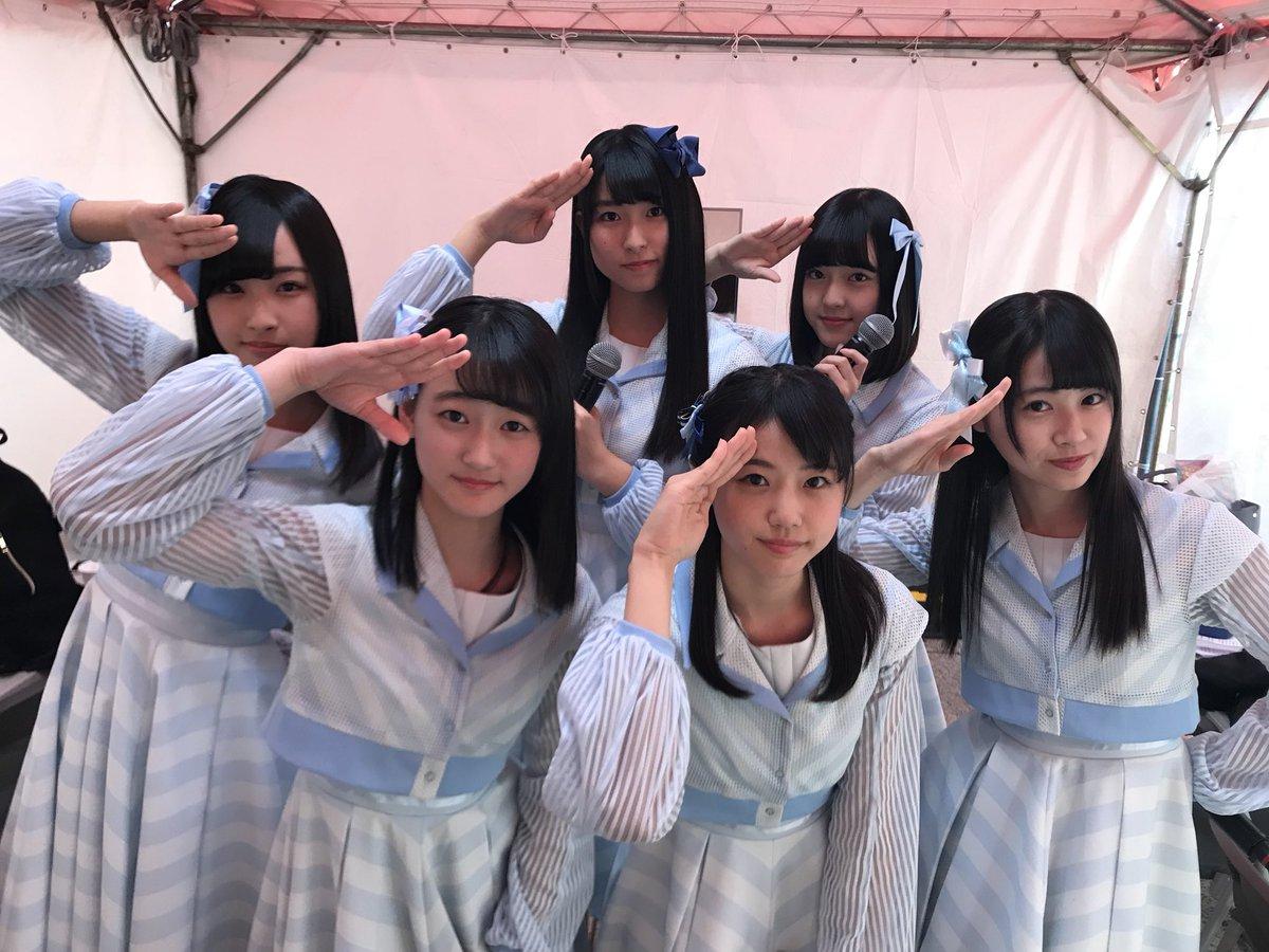 """STU48: STU48 On Twitter: """"ひろしまフラワーフェスティバルのミニライブ、スタートしました🌼 研究生の5人"""