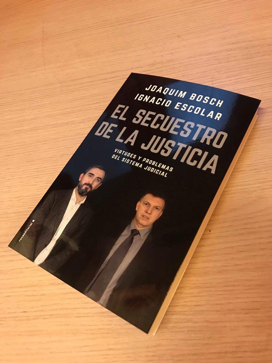 Espero que os interese. http://www.rocalibros.com/eldiario.es /catalogo/Joaquim+Bosch+Ignacio+Escolar/El+secuestro+de+la+justicia  …pic.twitter.com/FTkHaGDT4C