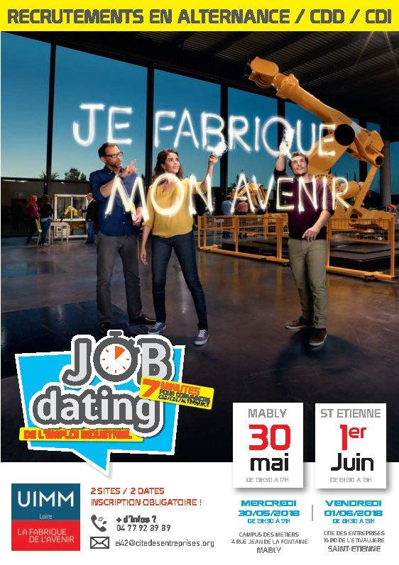 job dating saint etienne 2017