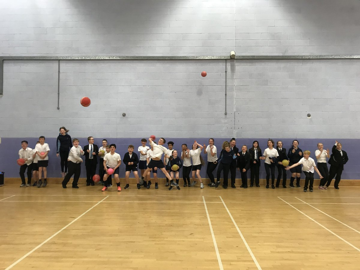 Well done to 7.2 for making it through to the finals of the dodgeball competition!